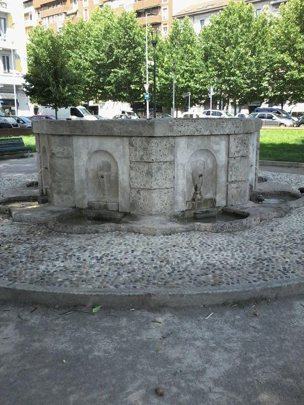 Acquedotto Acqua Marcia.Fontana Detta Dell Acqua Marcia Parco Sempione Fontane Di